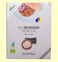 Hamburguesa Vegetal Tofu i Algues Bio - Ahimsa - 160 grams