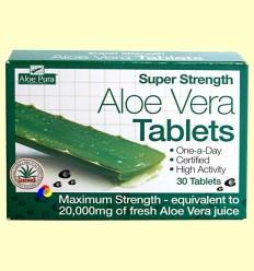 Aloe Vera Potència Màxima - Evicro Madal Bal - 30 tabletes