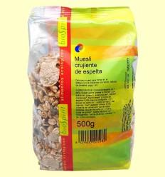 Muesli cruixent d'espelta - BioSpirit - 500 grams