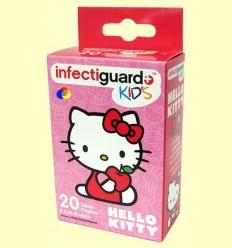 Apóstitos Hello Kitty - Infectiguard Kid 's - Sanrio - 20 unitats