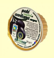Paté Vegetal de Oliva Negra - Soria Natural - 50 grams