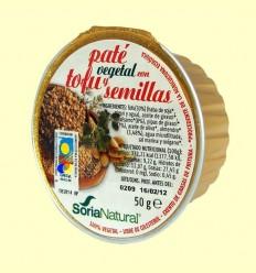 Paté Vegetal amb Tofu i Llavors - Soria Natural - 50 grams