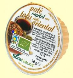 Paté Vegetal amb Tofu Estil Oriental - Soria Natural - 50 grams