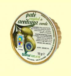 Paté Vegetal d'Oliva Verda - Soria Natural - 50 grams