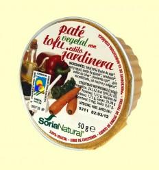 Paté Vegetal amb Tofu Estil Jardinera - Soria Natural - 50 grams