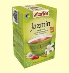 Gessamí - Infusió d'herbes i flors amb te verd - Yogi Tea - 17 bossetes d'infusió