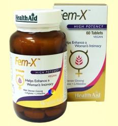 Fem-X - Intimitat de la dona - Health Aid - 60 tabletes