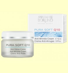 Crema Antiarrugues Pura Soft Coenzim Q-10 - Anne Marie Börlind - 50 ml