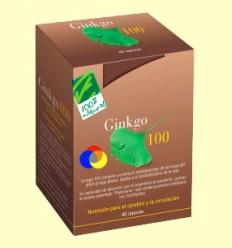 Ginkgo 100 - Memòria - 100% Natural - 60 càpsules
