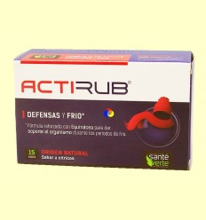 Acti'Rub - Defenses i fred - Santé Veure't - 15 sobres ******