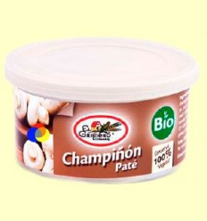 Paté Xampinyó Bio - El Granero - 125 grams
