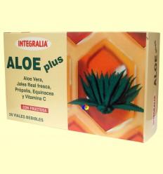 Aloe Plus amb Gelea Reial - Integralia - 20 vials bebibles