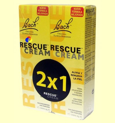 Crema Rescat 2 x 1 - Rescue Cream - Bach - 2 unitats 30 ml