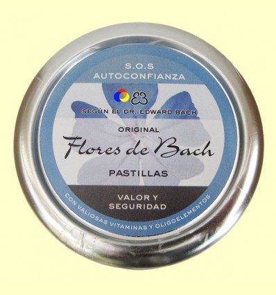Carmels Originals Flors de Bach - Valor i seguretat - Lemon Pharma - 50 grams
