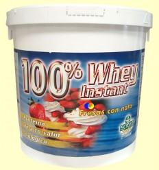 Proteïna 100% Whey sèrum de llet Sabor Maduixes amb Nata - Sotya - 2,2 kg