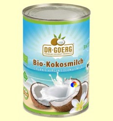 Llet de Coco Bio - Dr Goerg - 400 grams