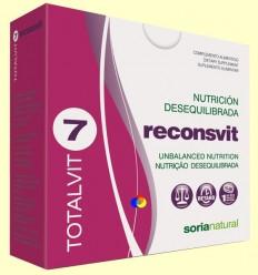 OFERTA-50% - Totalvit 7 Reconsvit - Nutrició desiquibrada - Soria Natural - 28 comprimits - CAD: 2017.02.28