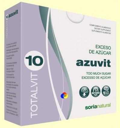 Totalvit 10 Azuvit - Excés de Sucre - Soria Natural - 28 comprimits