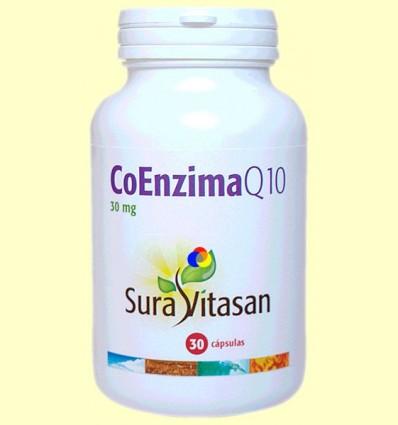 Coenzim Q-10 - Sura Vitasan - 30 càpsules 30 mg