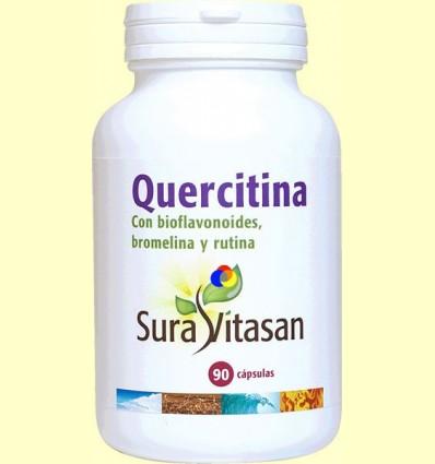 Quercitina 600 mg - Al·lèrgies - Sura Vitasan - 90 càpsules