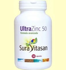 Ultra Zinc 50 mg - Sura Vitasan - 30 càpsules