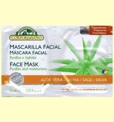 Mascareta Facial Aloe Vera i Salvia - Corpore Sa - 7,5 ml x 2