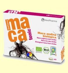 Macatonic - Maca andina biològica - VenPharma - 60 comprimits