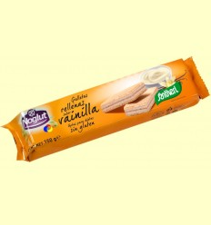 Galetes Farcides Vainilla Noglut - Sense Gluten - Santiveri - 150 grams
