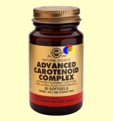 OFERTA-40% - Carotenoides Complex Avançat - Solgar - 30 càpsules