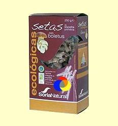 Pasta Bolets amb Boletus Ecològica - Soria Natural - 250 grams