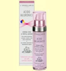 Àcid hialurònic - Fluid cara - Anti-edat per a pell normal i seca - L'Erbolario - 50 ml