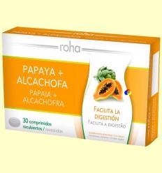 Papaia + Carxofa - Roha - 30 comprimits