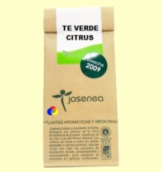 Te Verd Citrus - Josenea infusions ecològiques - 50 grams