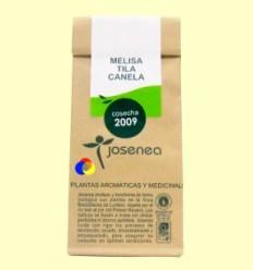 Melissa + Tila + Canela granel - Josenea infusions ecològiques - 25 grams