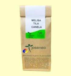 Melissa + Tila + Canela - Josena infusions ecològiques - 10 piràmides