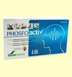 Phosfoactiv - Rendiment i Concentració - Soria Natural - 20 vials