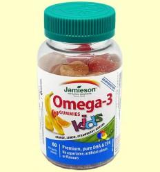 Caramels de goma Omega-3 infantil - Jamieson - 60 caramels