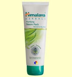 Mascareta Facial de Neem - Himàlaia Herbals - 75 ml