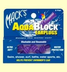 Taps per les orelles AquaBlock - Mack 's - 2 parells