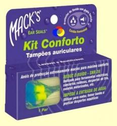 Taps per les orelles Kit Confort EarSeals - Mack 's - 1 parell