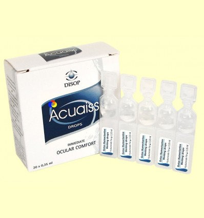 Acuaiss - Gotes oculars - Disop - 20 monodosi