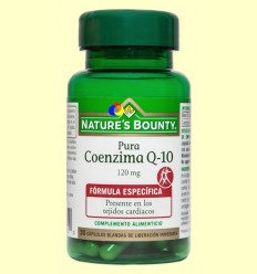 Coenzim Q-10 Pura 120 mg - Nature 's Bounty - 30 perles
