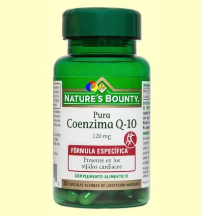 Coenzim Q-10 Pura 120 mg - Nature 's Bounty - 30 perles