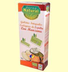 Galetes Integrals Ecològiques Espelta amb Poma - Forn Natural - 100 grams