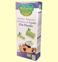 Galetes Integrals Ecològiques Espelta amb Pruna - Forn Natural - 100 grams