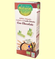 Galetes Integrals Ecològiques Espelta amb Xocolata - Forn Natural - 100 grams