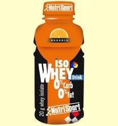 Beguda Whey Protein Taronja - Nutrisport - 330 ml
