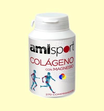 Col·lagen amb magnesi - amlsport - 270 comprimits