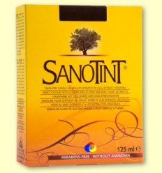 Tint Sanotint Classic - Negre 01 - Sanotint - 125 ml