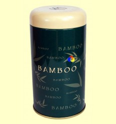 Llauna per guardar Te - Bamboo Verd Fosc
